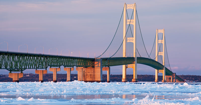 Icy Straits of Mackinac
