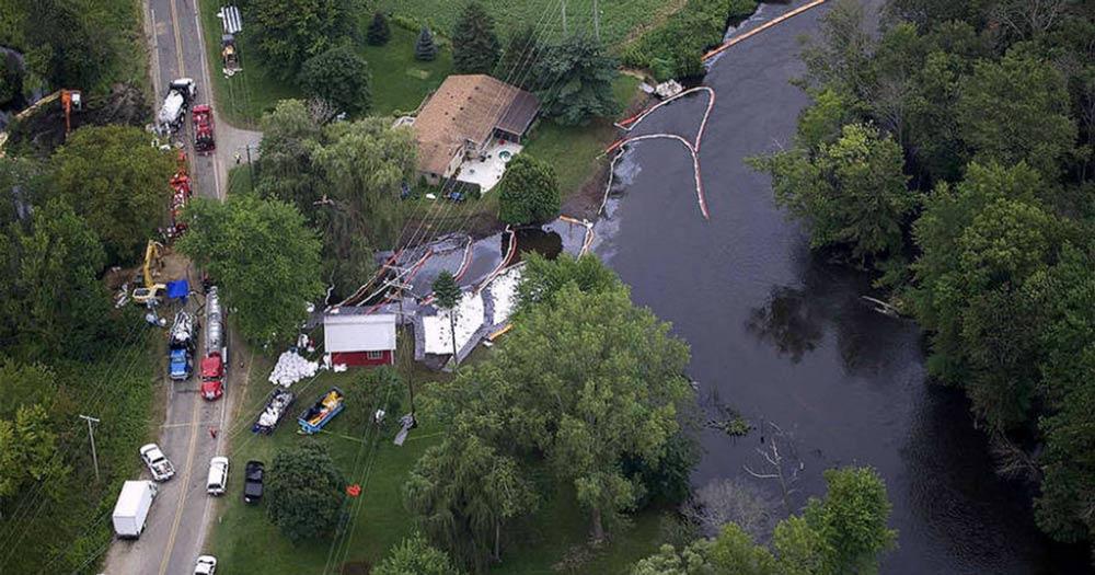 Enbridge Kalamazoo River Spill
