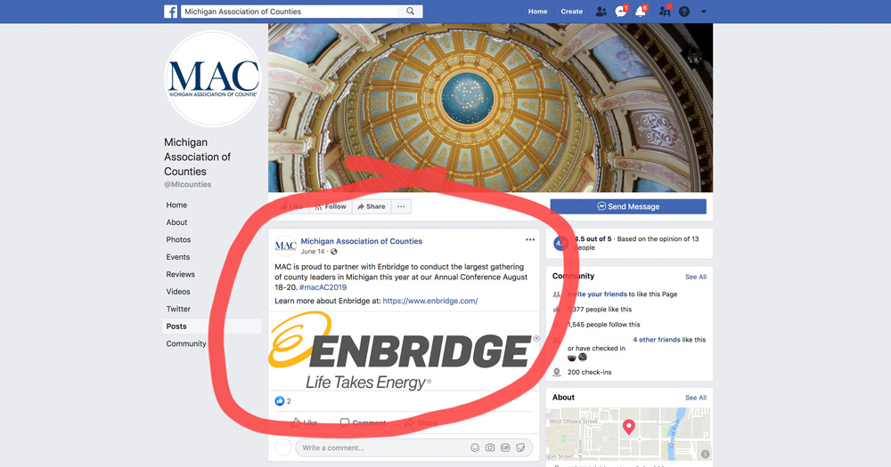 Michigan Association of Counties - Sponsored by Enbridge