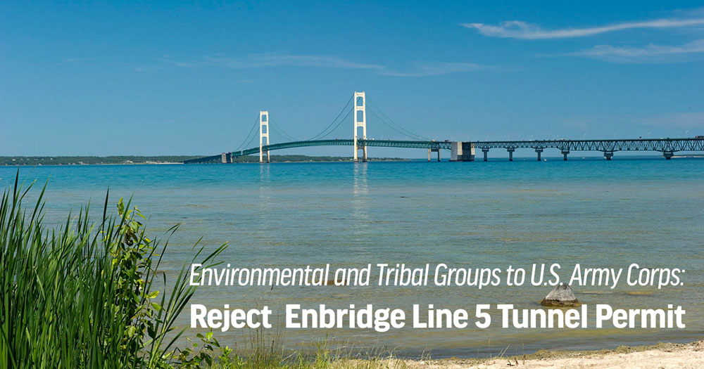 Reject the Enbridge Permit