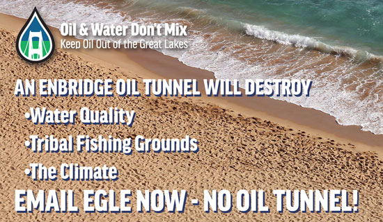 Submit Comment to Stop Enbridge Tunnel Now