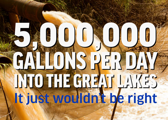 5M Gallons a Day is Not Right