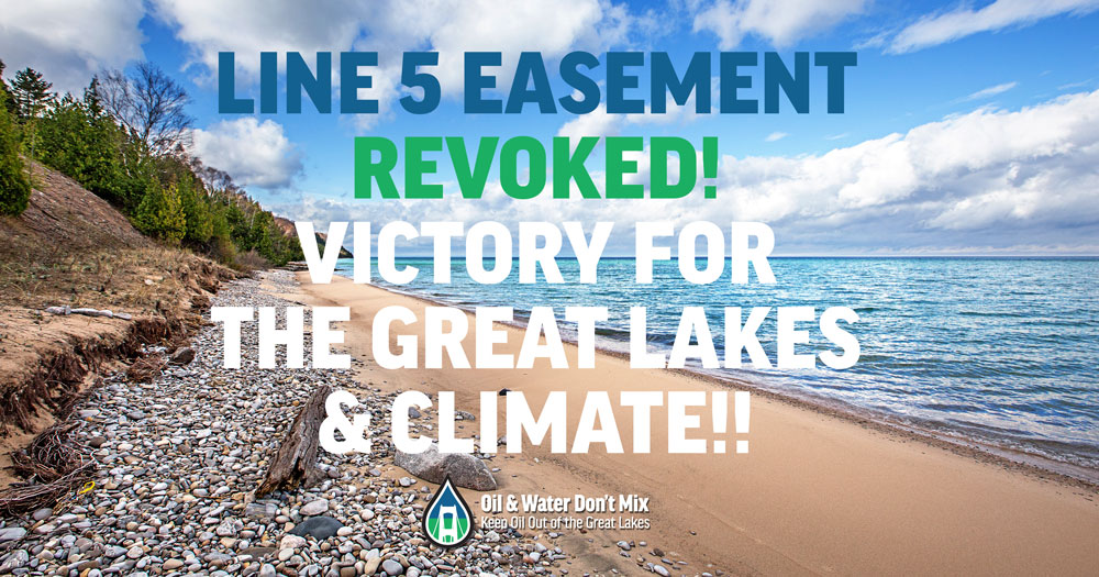 Victory for the Great Lakes and Climate