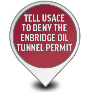 Tell USACE to Deny Oil Tunnel Permit