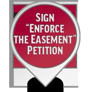 Enforce the Easement
