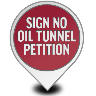 No Oil Tunnel Petition