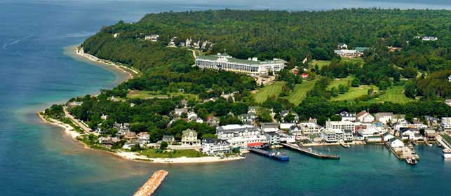 Mackinac Island in the Cross Hairs