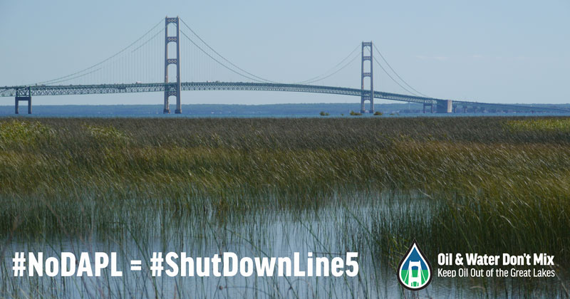 No Dakota Access Pipeline = Shut Down Line 5
