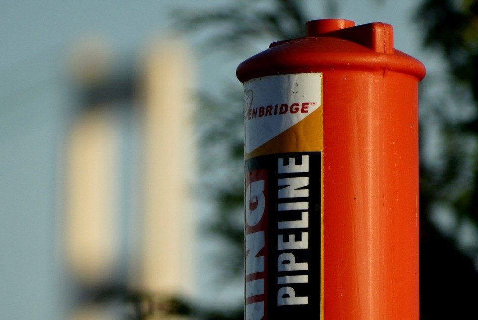Enbridge Pylon