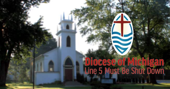 Diocese of Detroit Calls for Shutdown of Line 5