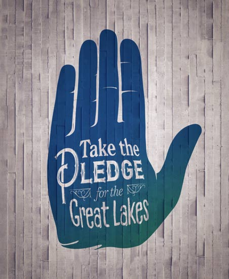 Take the Pledge for the Great Lakes