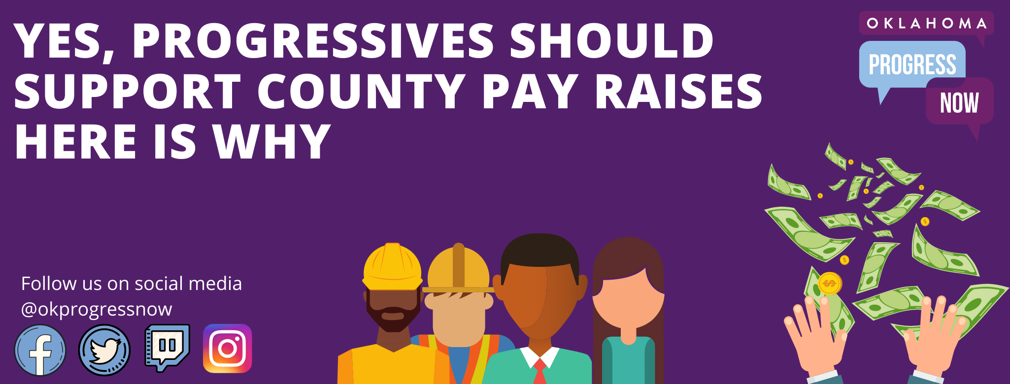 County Pay Raise Fight