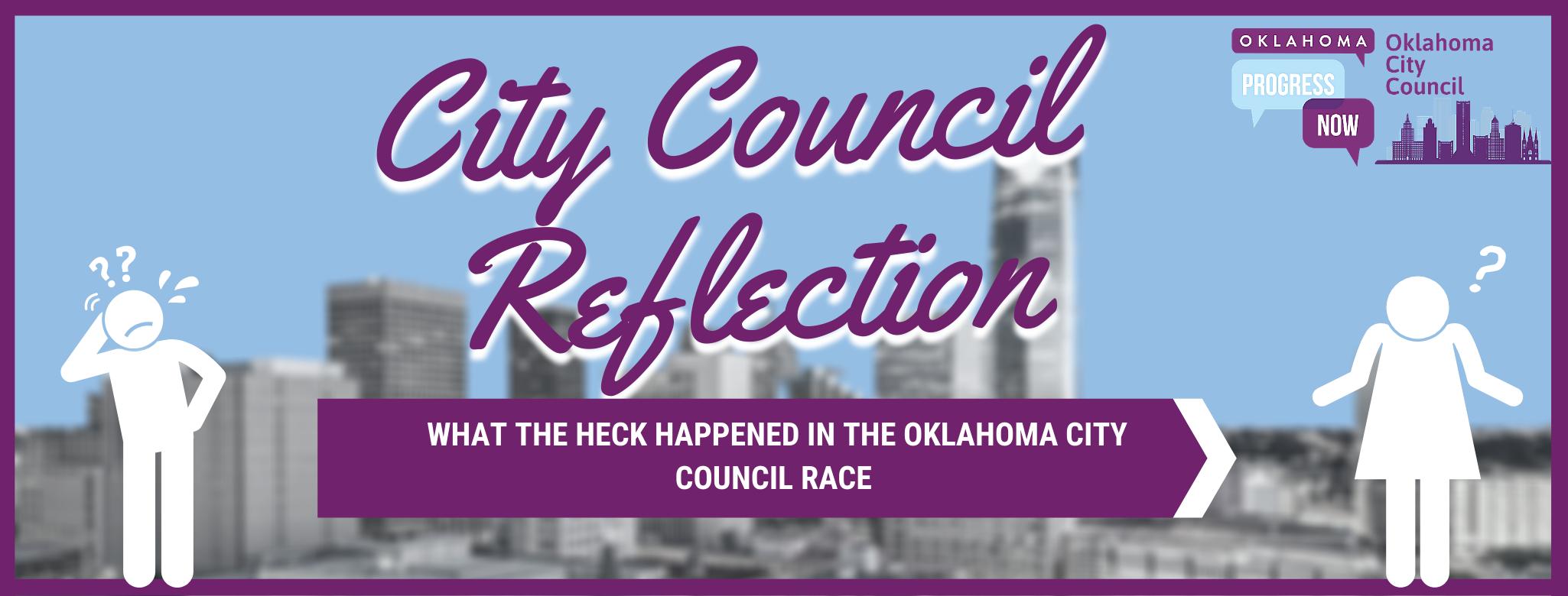 City Council Reflections