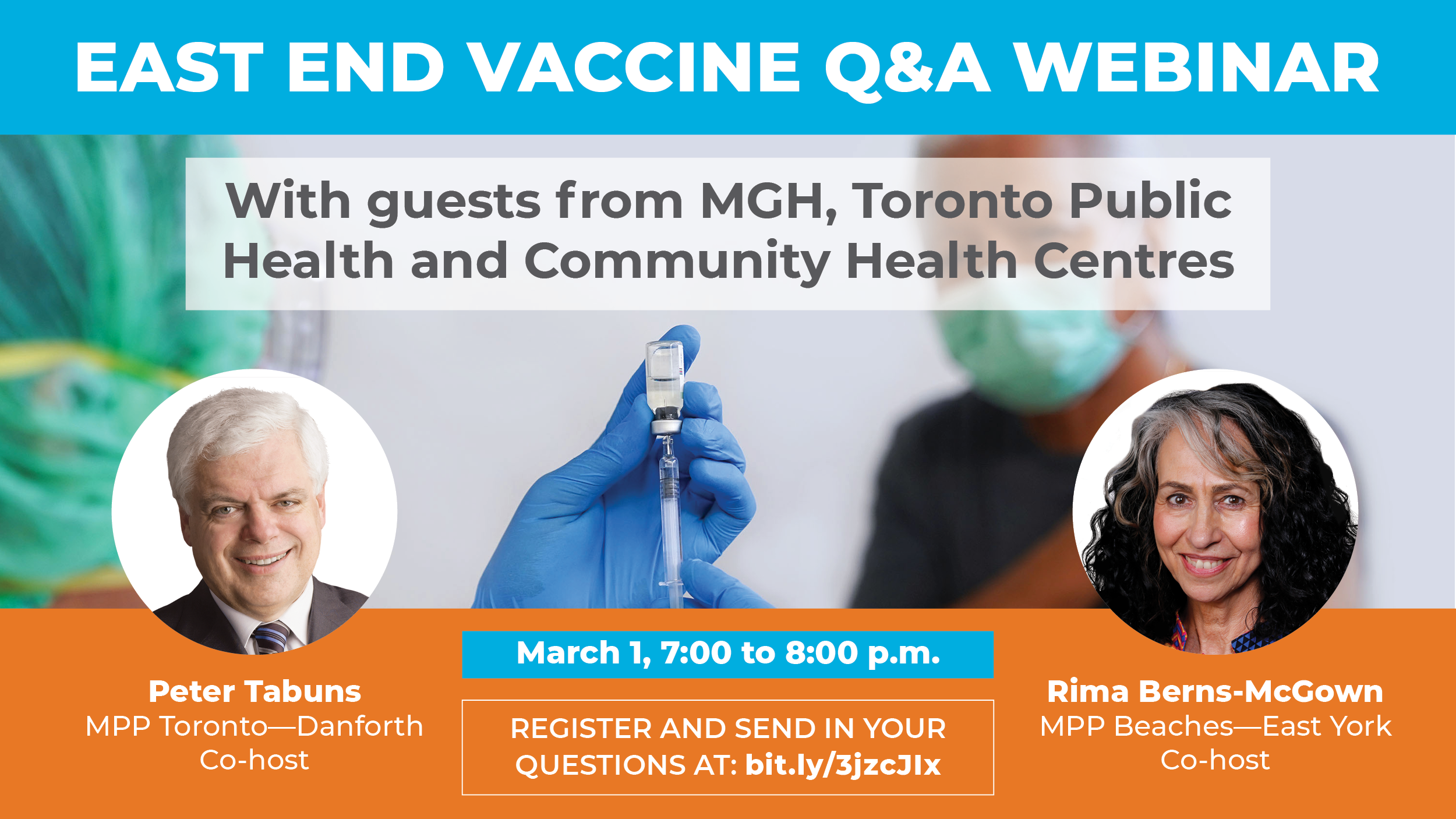 Detail of the Vaccine Q&A Webinar