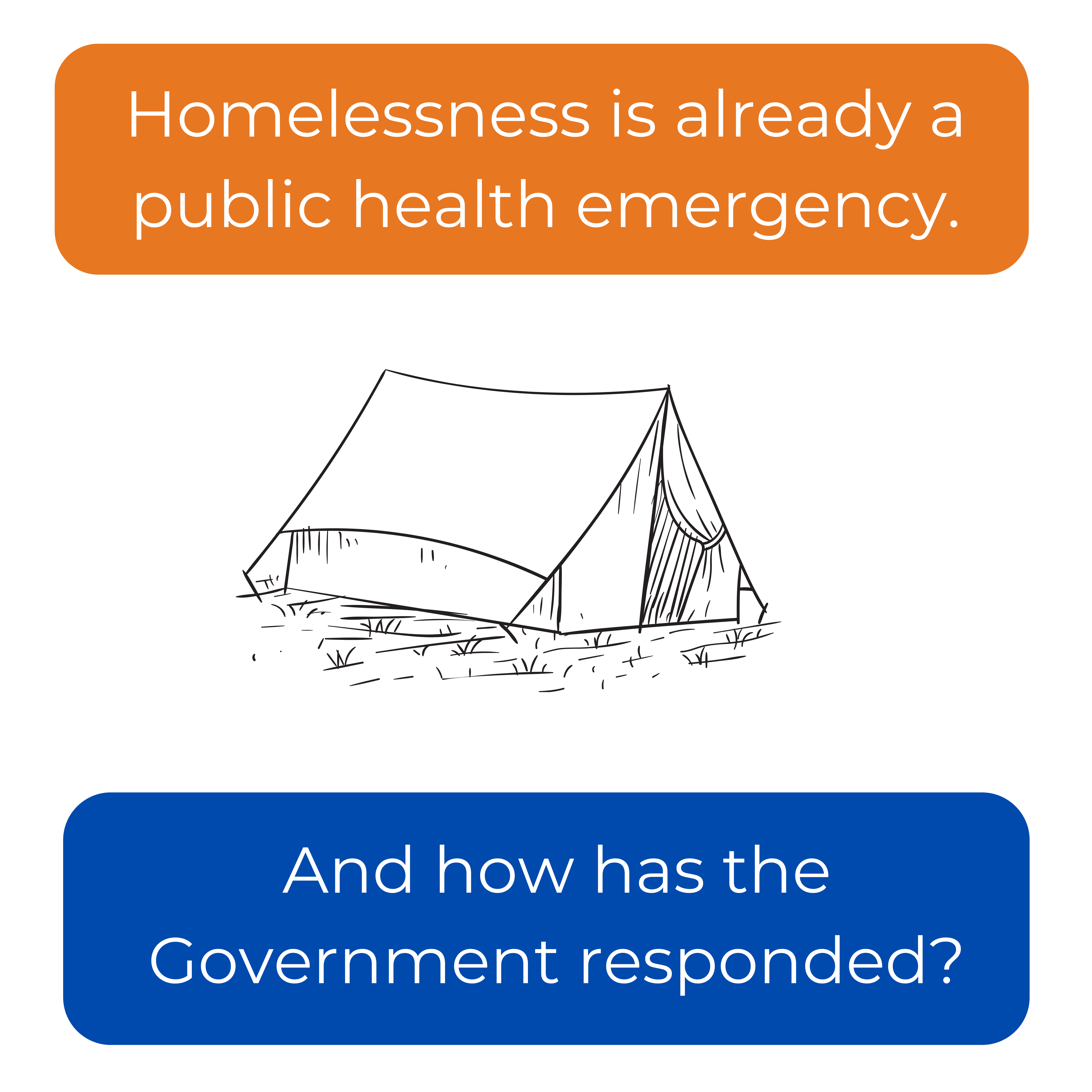 Homelessness is already a public health emergency. And how has the Government responded?