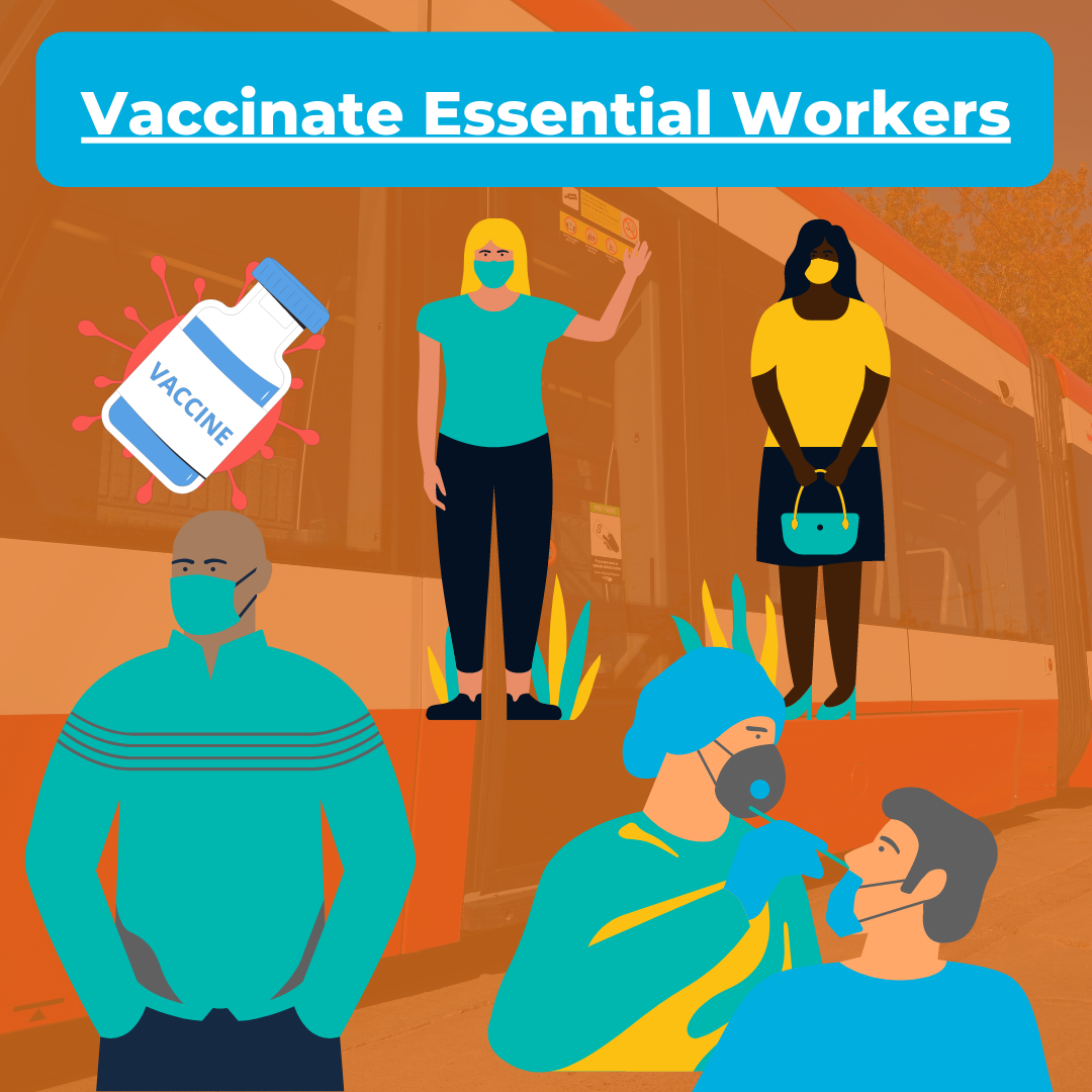 Vaccinate Essential Workers