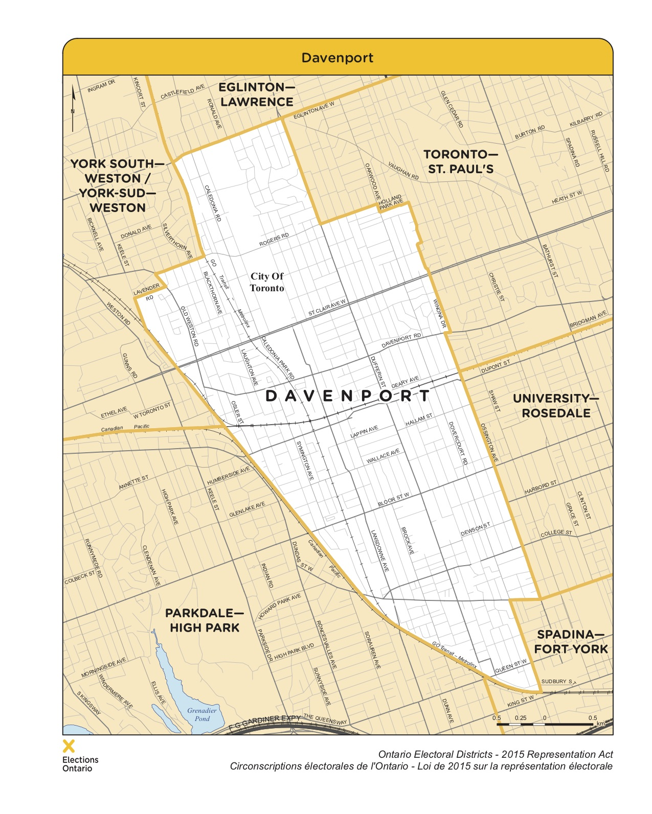 Map of Davenport