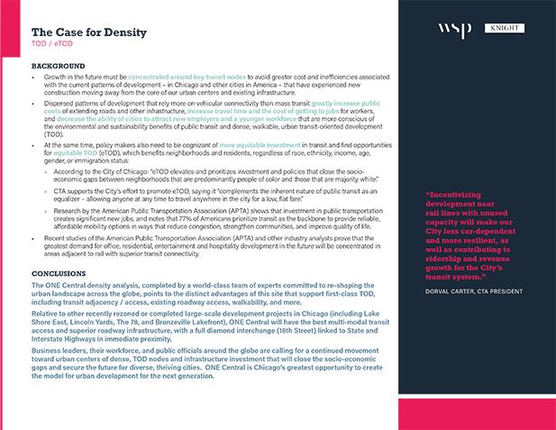 The Case for Density