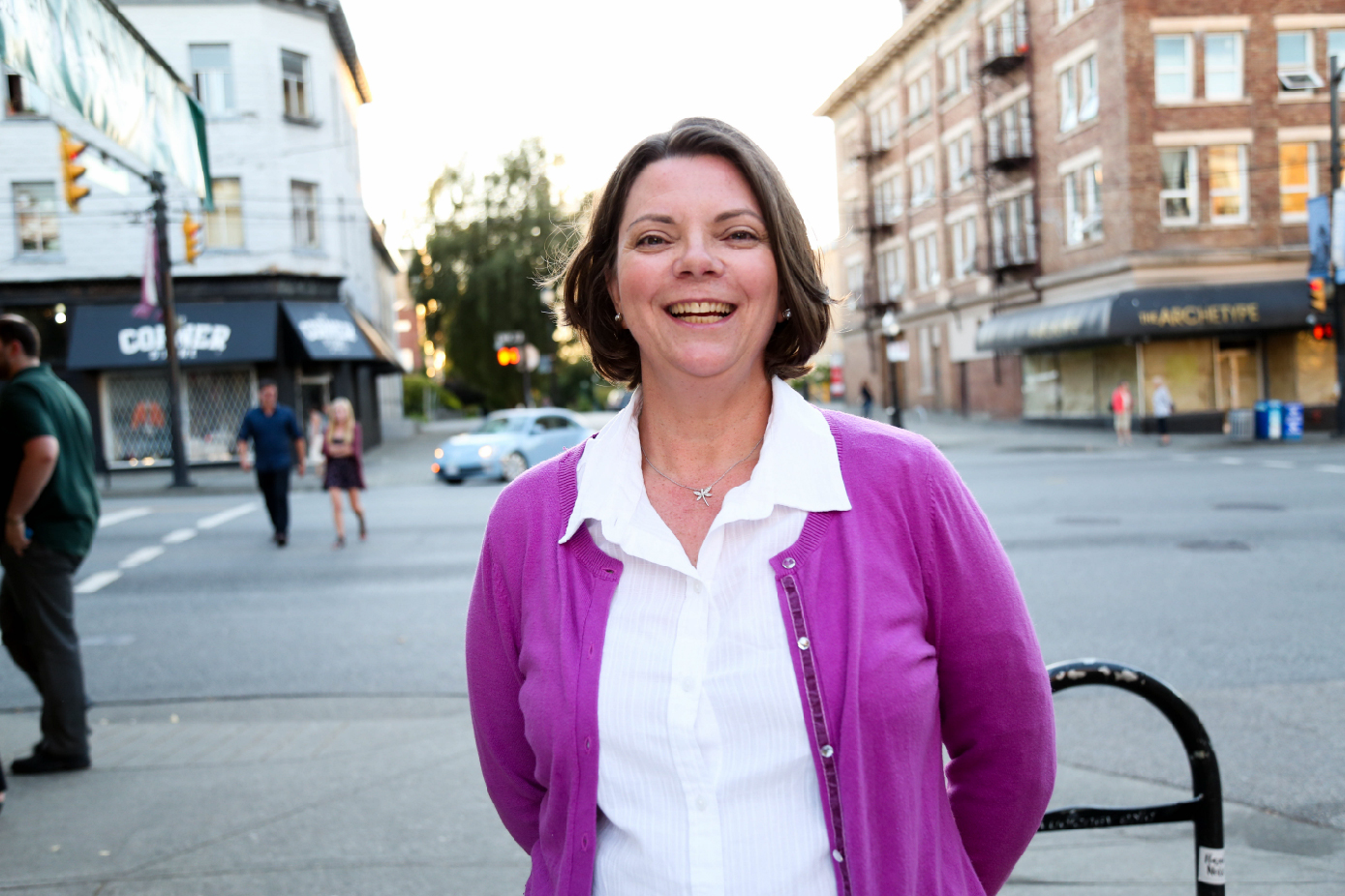 Erica Jaff Candidate for Vancouver School Board