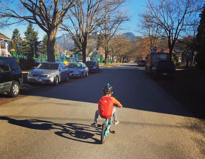 Riding to School