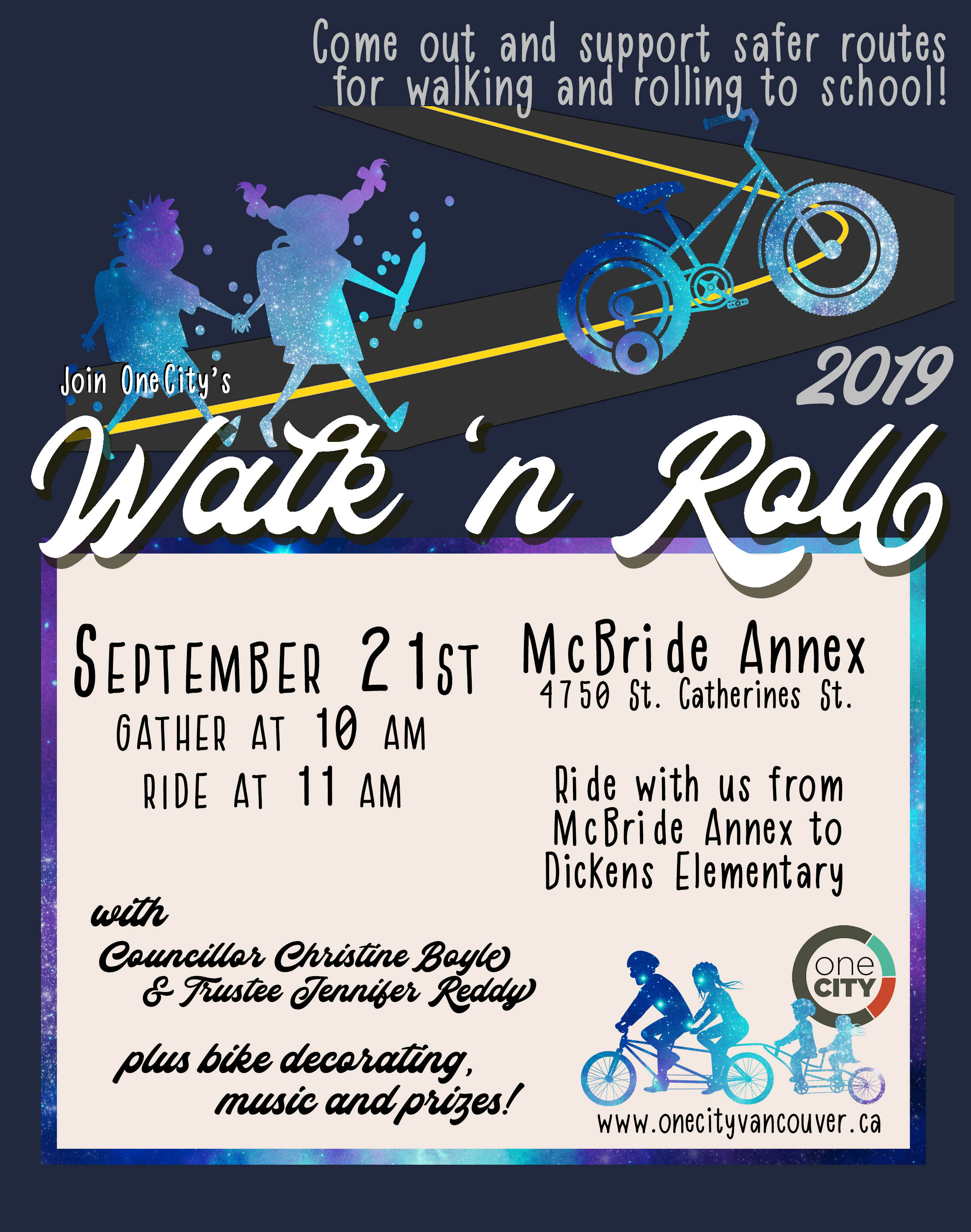 Walk 'n Roll Event Poster