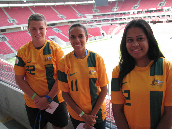 Team Australia at the World Vision Cup | One Goal