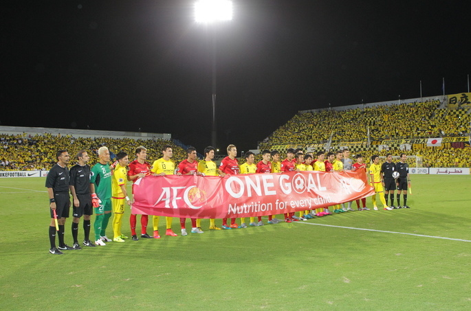 Japan and China ACL teams stand together for One Goal