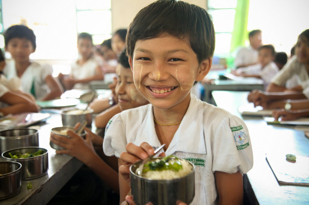 When children fall in love with real, fresh food