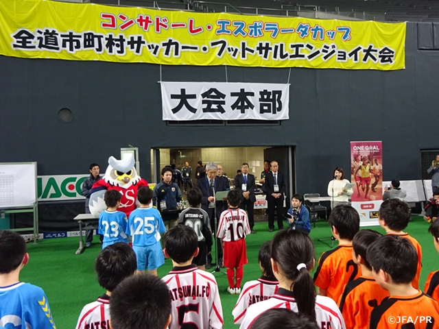 One Goal football event in Hokkaido, Japan engages locals in the message of nutrition