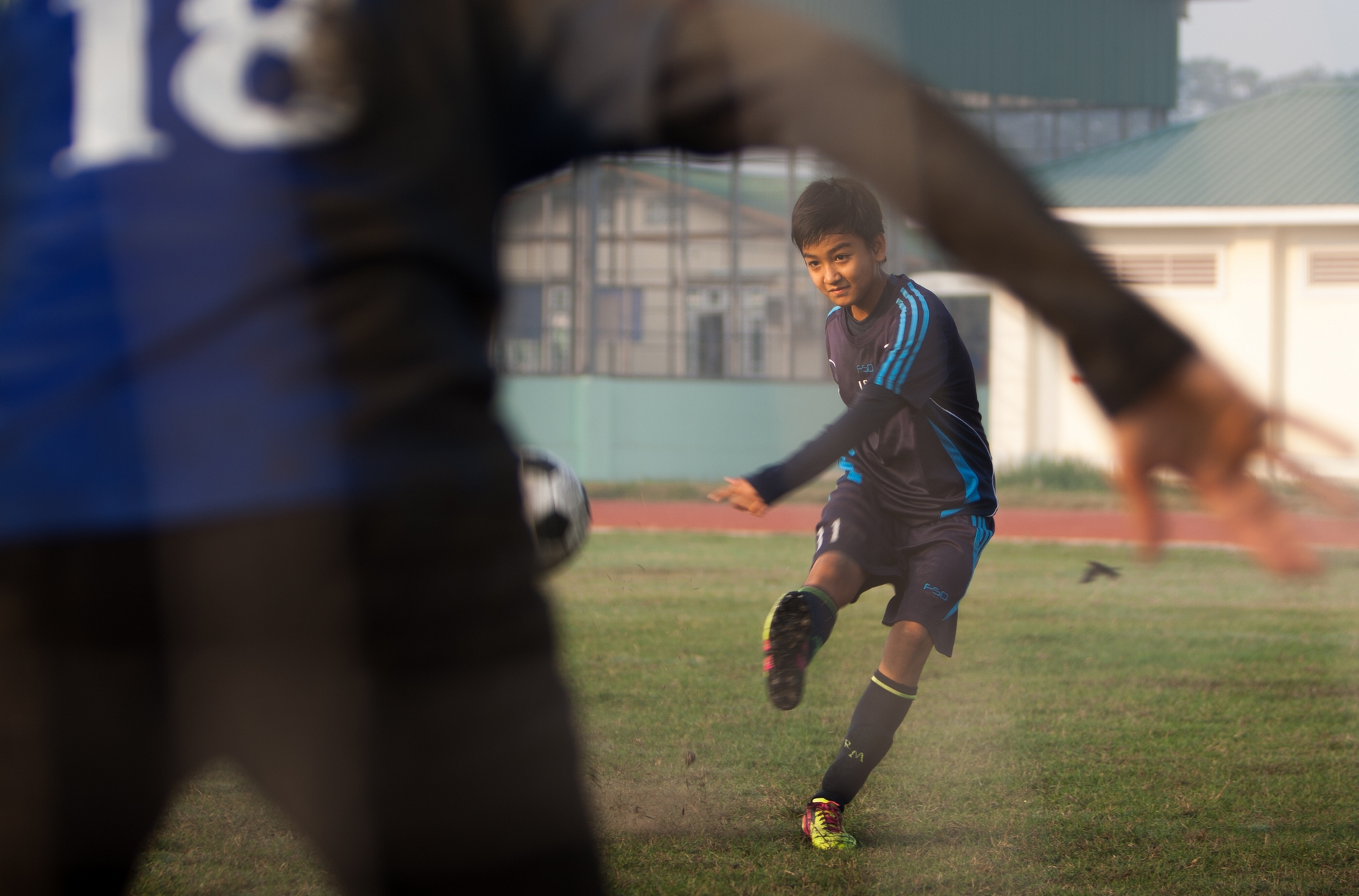 A day in the life of a young female footballer in Myanmar in PHOTOS