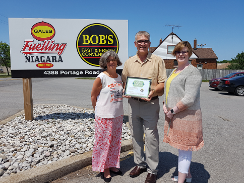 Gales Gas bars Ltd with living wage certificate