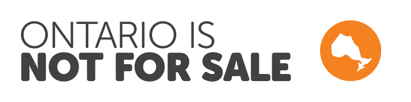 Ontario is not for sale
