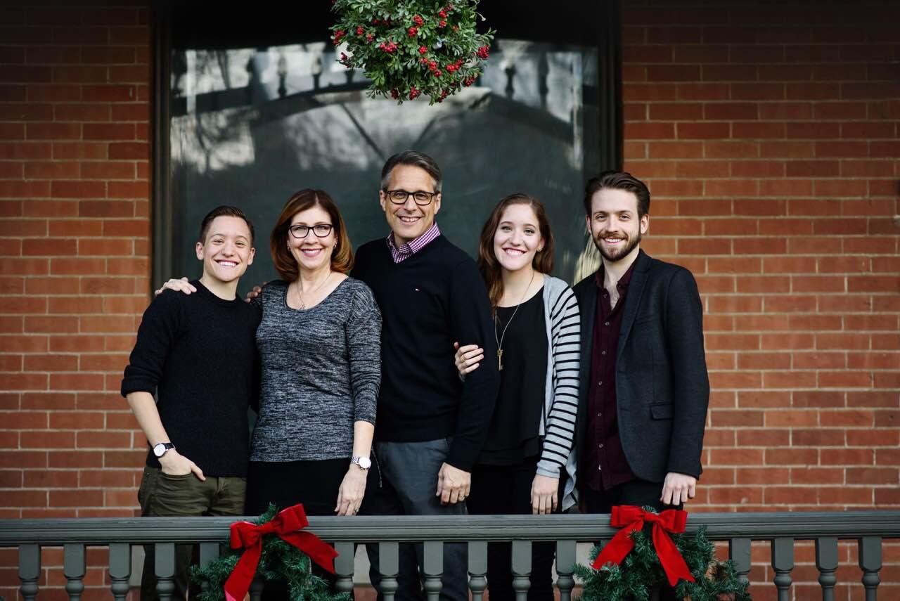 Dennis Skinner & family