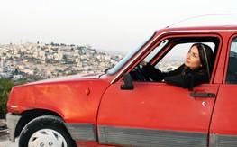 Leila and car
