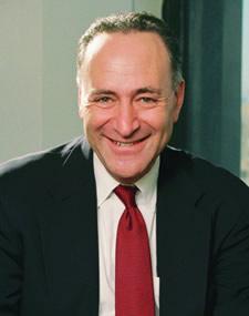Headshot of Senator Charles Schumer
