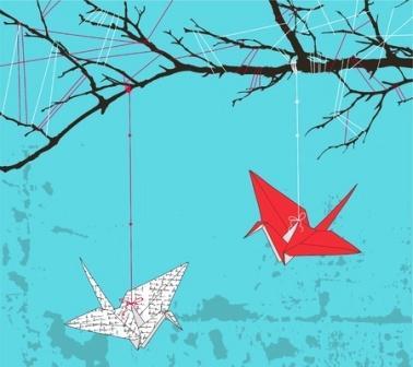 Origami_folded_crane_painting.jpg