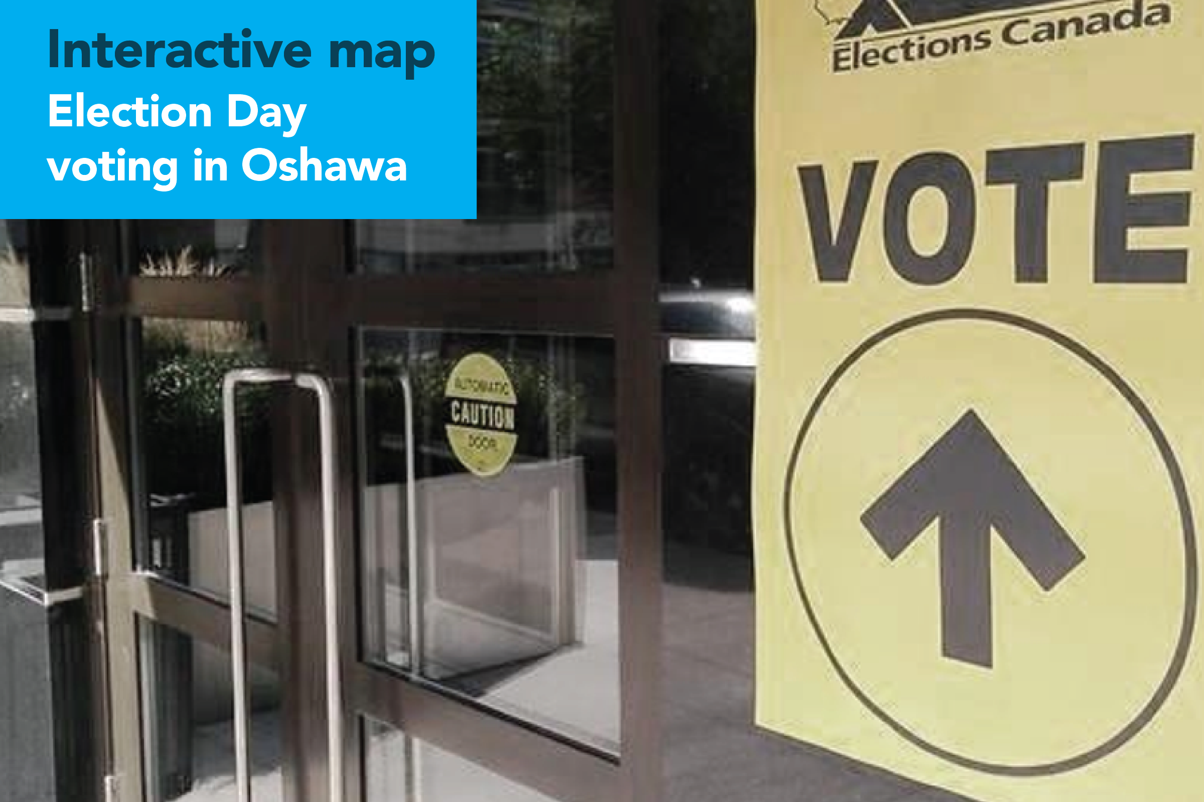 Vote Today in Oshawa