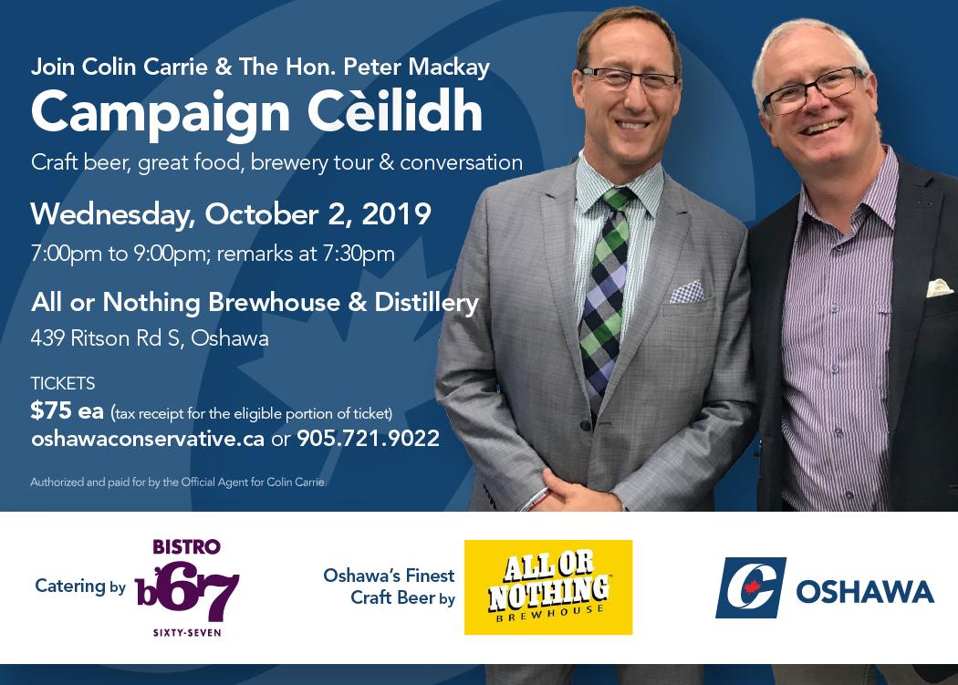 Campaign Cèilidh, 2 Oct 2019