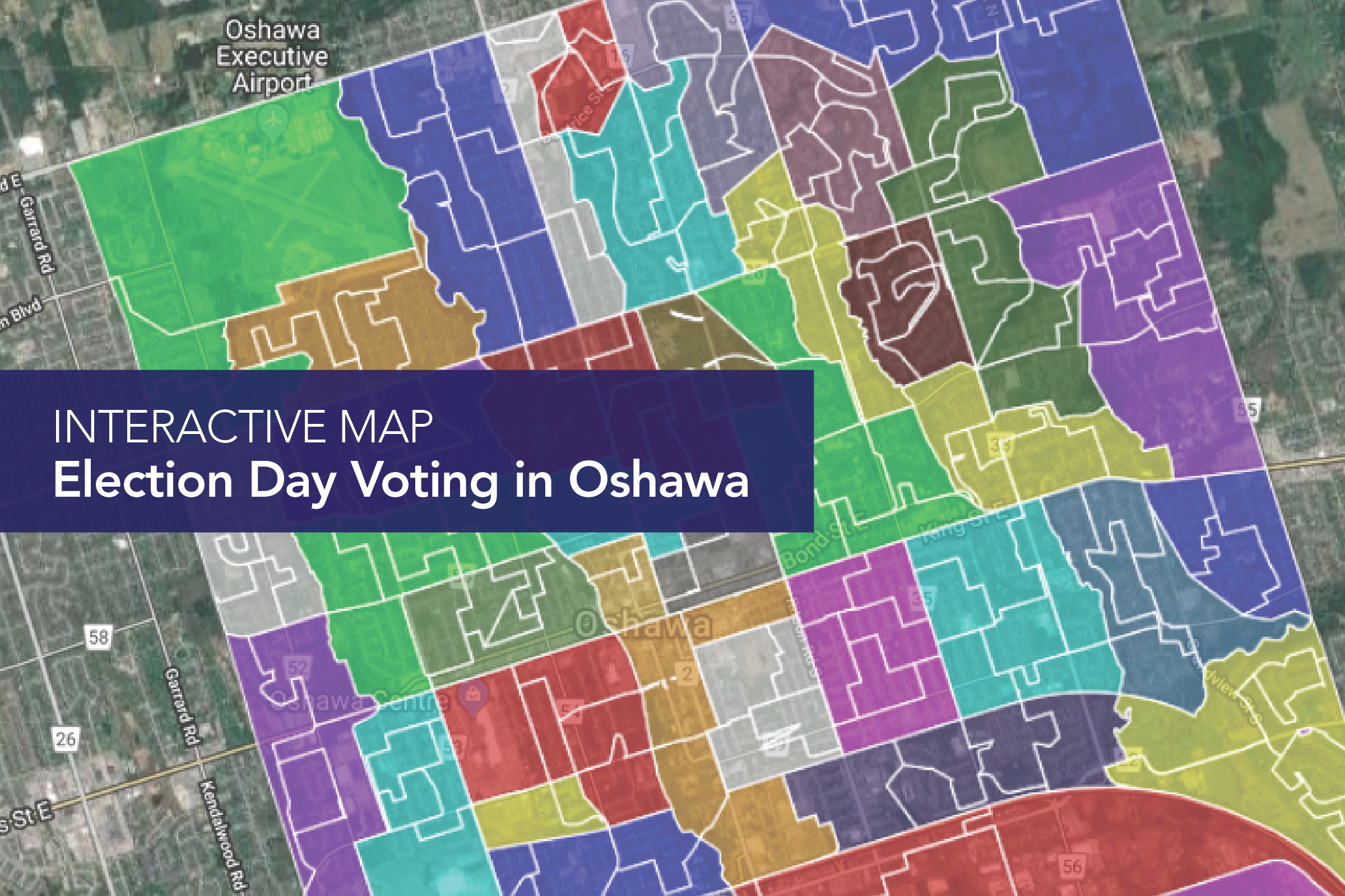 MAP: Oshawa Election Day voting locations