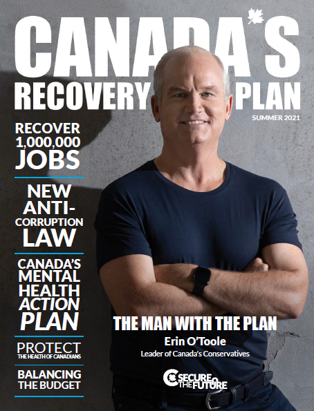 Canada's Recovery Plan - Cover