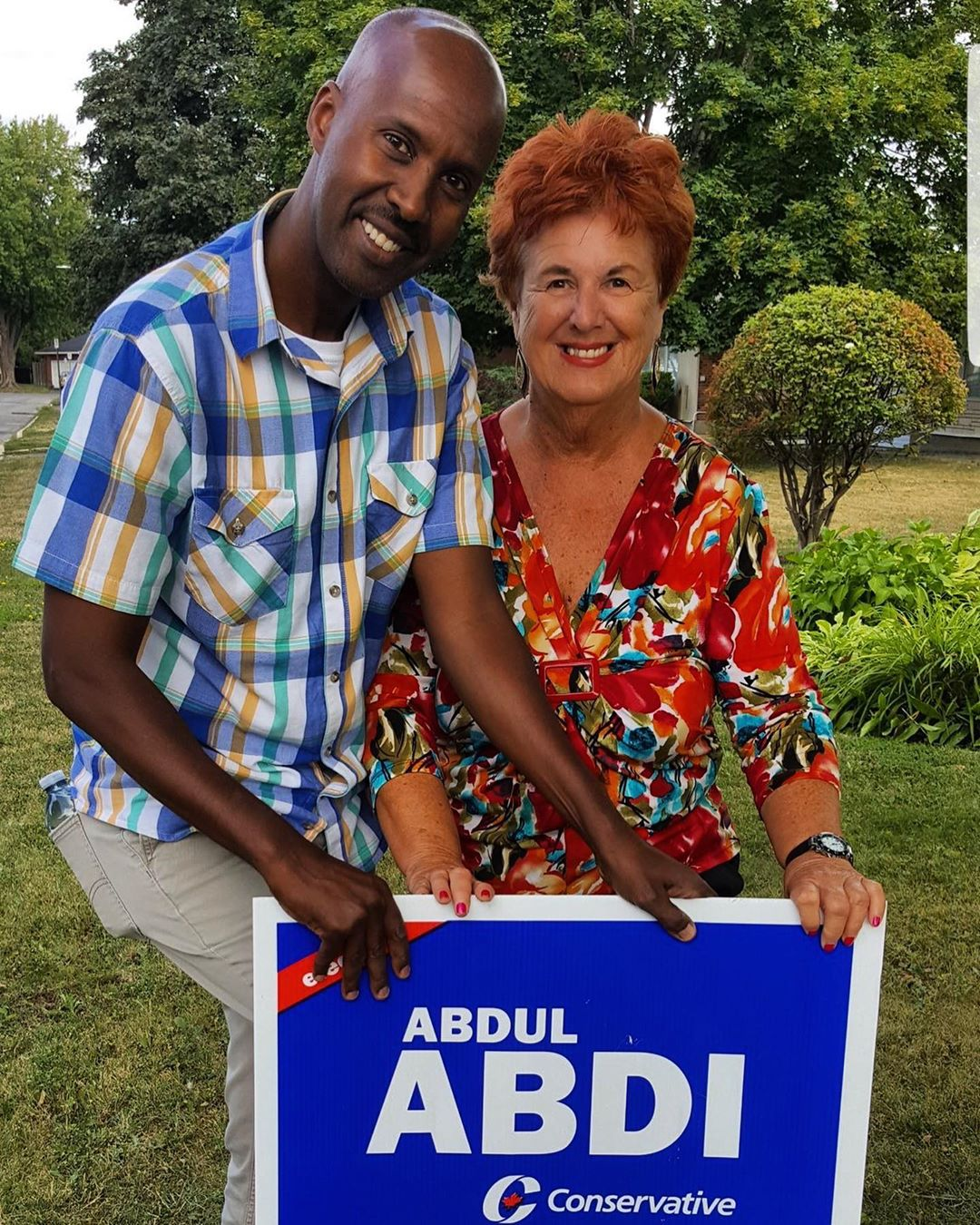 Abdul Abdi, Conservative Candidate for Ottawa West—Nepean