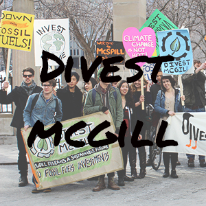 Divest McGill Website