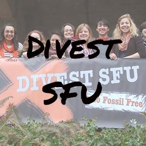 Divest SFU Website