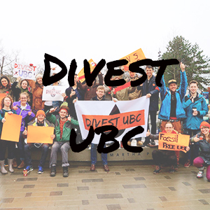 Divest UBC Website