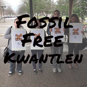 Fossil Free Kwantlen Website