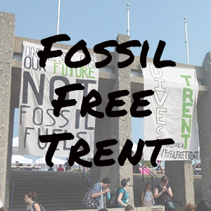 Fossil Free Trent Website