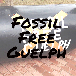 Fossil Free Guelph Website