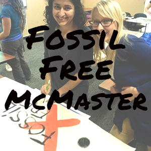 Fossil Free McMaster Website