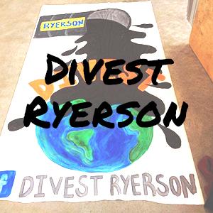 Divest Ryerson Website