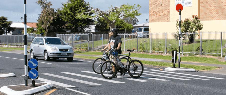 Image of people on bikes